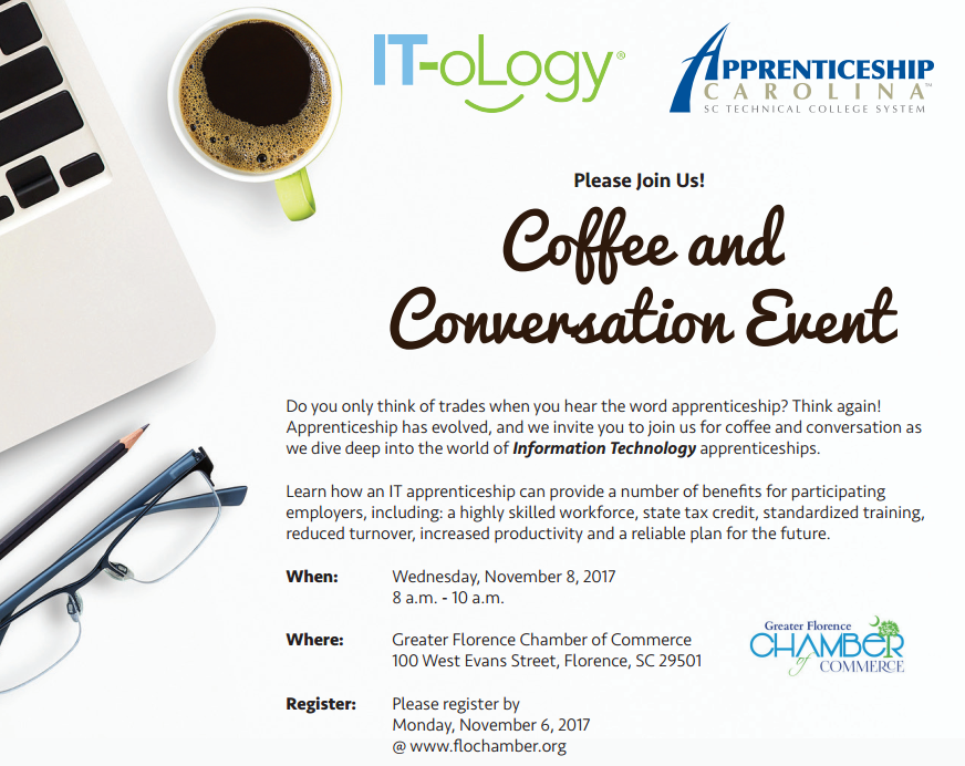 Apprenticeship Coffee and Conversation - Florence - IT-oLogy